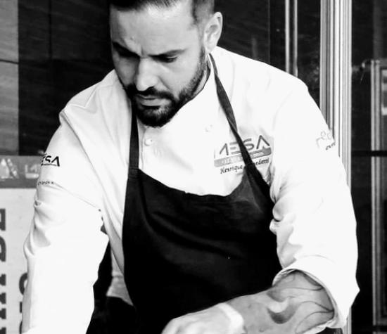Chef Henrique Benedetti