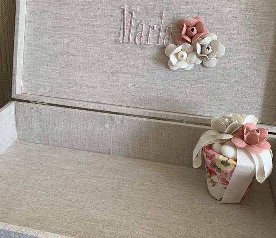 Caixa Porta lembrancinhas Noivas e bebês