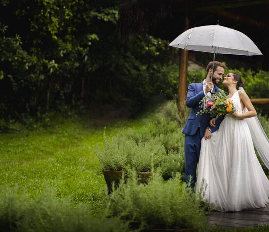 Casamento fim de tarde