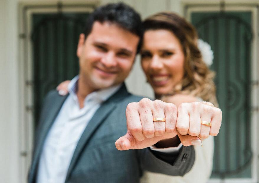 Precisa de ajuda para organizar o casório? É para já! Listamos fornecedores incríveis para te ajudar com os preparativos