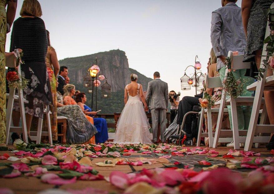 Miniguia de protocolos de casamento tradicionais e INOVAÇÕES: faça a sua escolha!