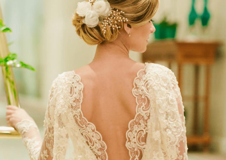 Bordados, rendas, pérolas... tudo para a confecção do vestido de noiva dos sonhos!