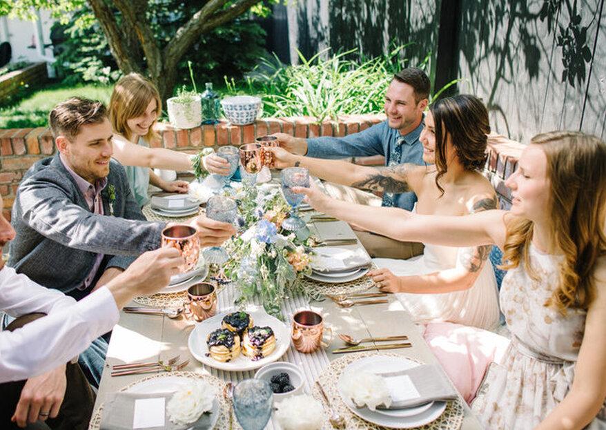 Conquiste os convidados do seu casamento com as delícias destes buffets