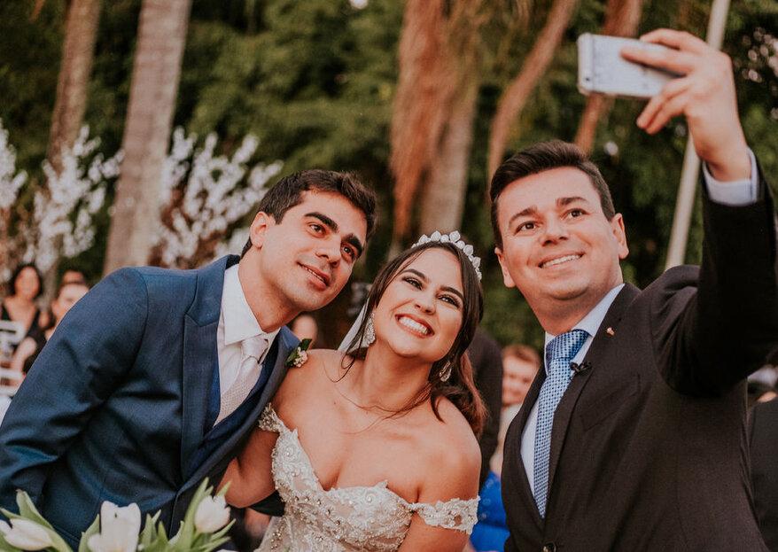 Rafael Faria Celebrante: carinho com a história dos noivos é a pedida ideal para uma cerimônia inesquecível!