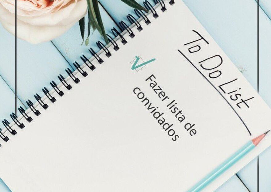 Check list casamento: lista de tarefas completa para até 12 meses antes!