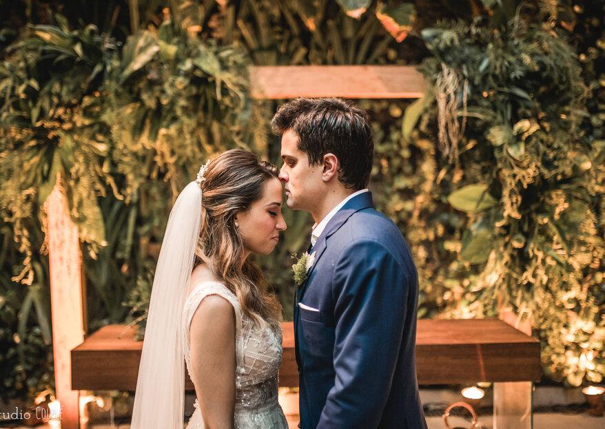 Ana Beatriz & Sergio: destination wedding chique e com decoração minimalista incrível no Grand Hyatt Rio de Janeiro