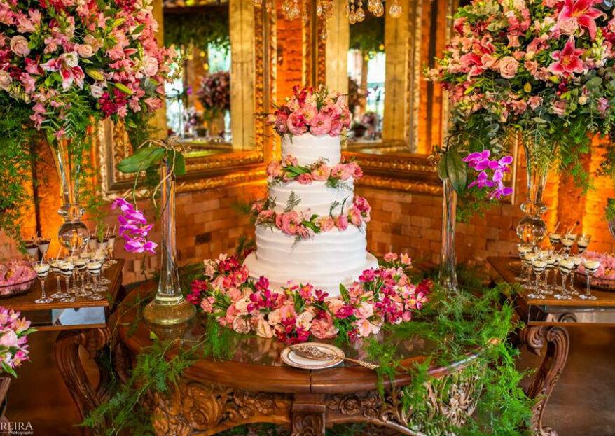 8 perguntas que você deve fazer para a empresa de doces e bolo do seu casamento!