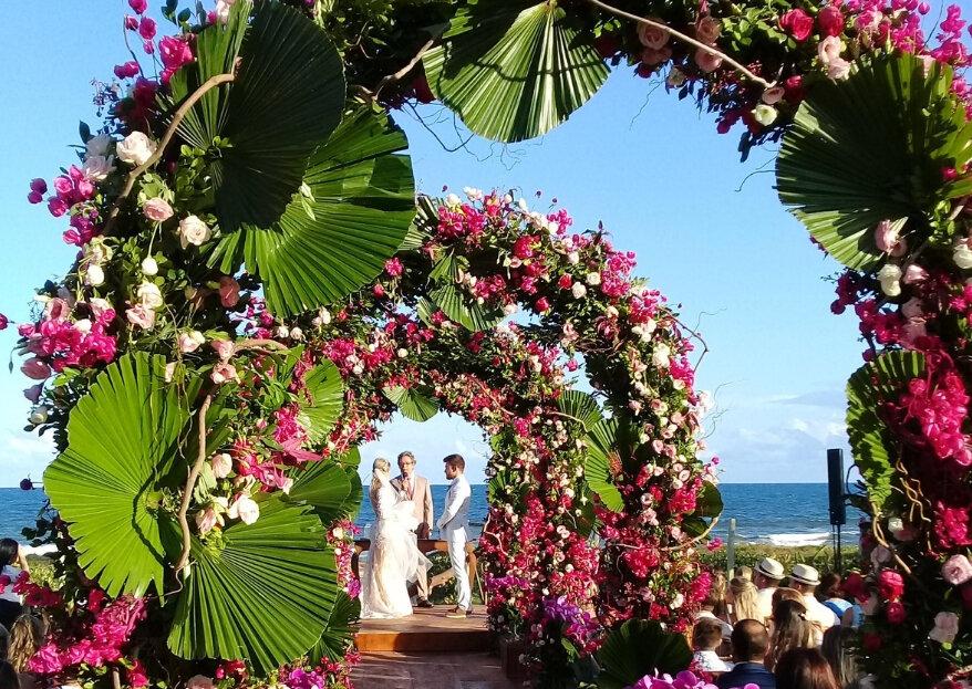 B Blue Beachouses: um lugar exclusivo e paradisíaco no litoral norte da Bahia para o seu casamento praiano de sonhos!