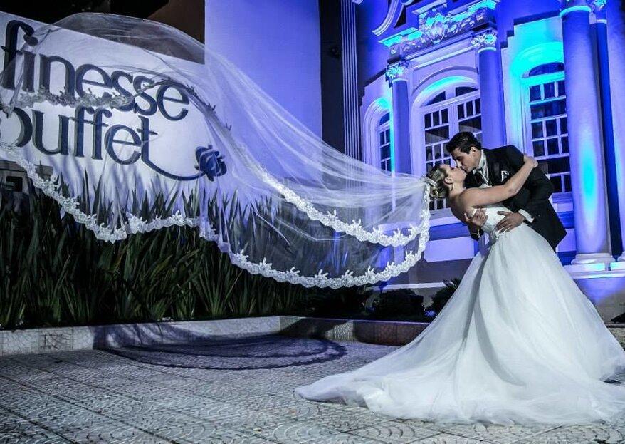 Buffet Finesse: Alta gastronomia e atendimento impecável para realizar o sonho de um casamento inesquecível
