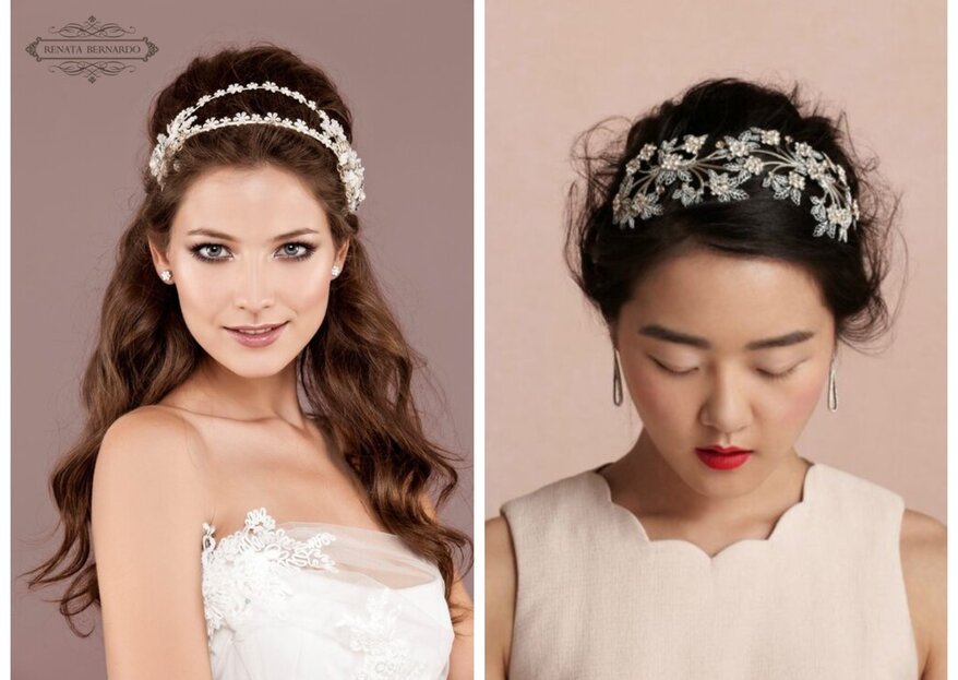 5 tipos de tiara de noiva que são um arraso e tutorial de como fazer a sua!
