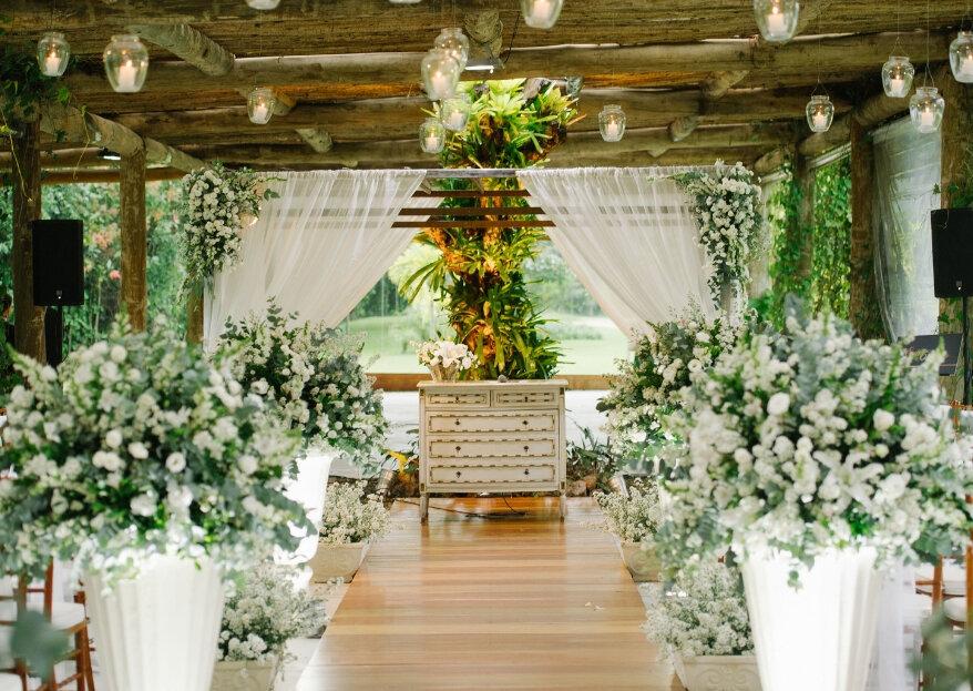 Entre o rústico e o contemporâneo: dois espaços incríveis para celebrar o seu casamento