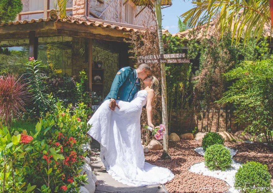 Casa das Pedras Festas e Eventos: um refúgio verde na Cidade Maravilhosa para casamentos apaixonantes