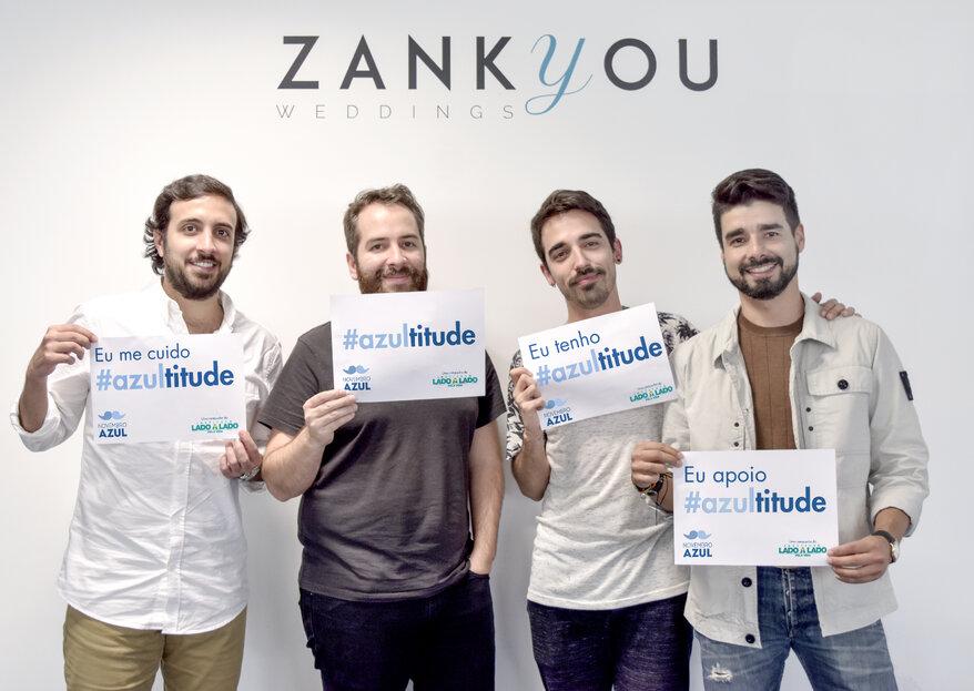Zankyou e Instituto Lado a Lado estão juntos contra o Câncer de Próstata