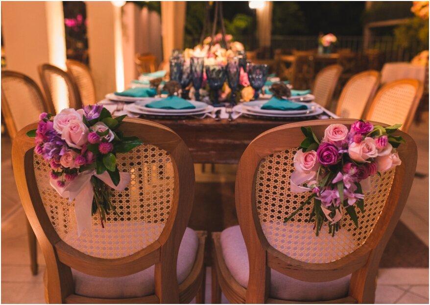 O casamento emocionante de Carol e Victor: uma festa cheia de cores e vida para celebrar um amor antigo!