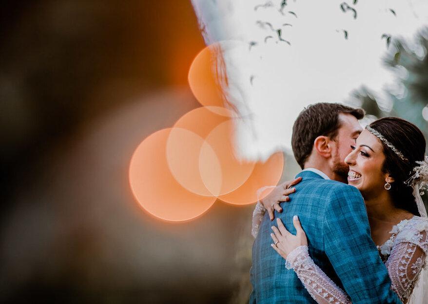 Tenha o seu casamento eternizado pelo trabalho magistral desses profissionais de foto e vídeo!