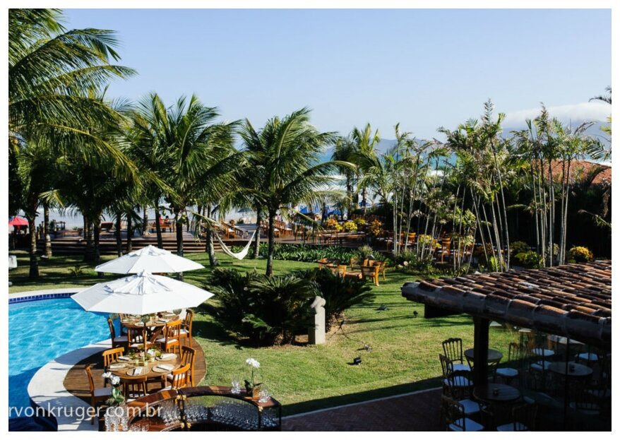 Espelho das Águas Búzio: o local perfeito para celebrar seu casamento com estrutura e serviço de hotelaria para seus convidados