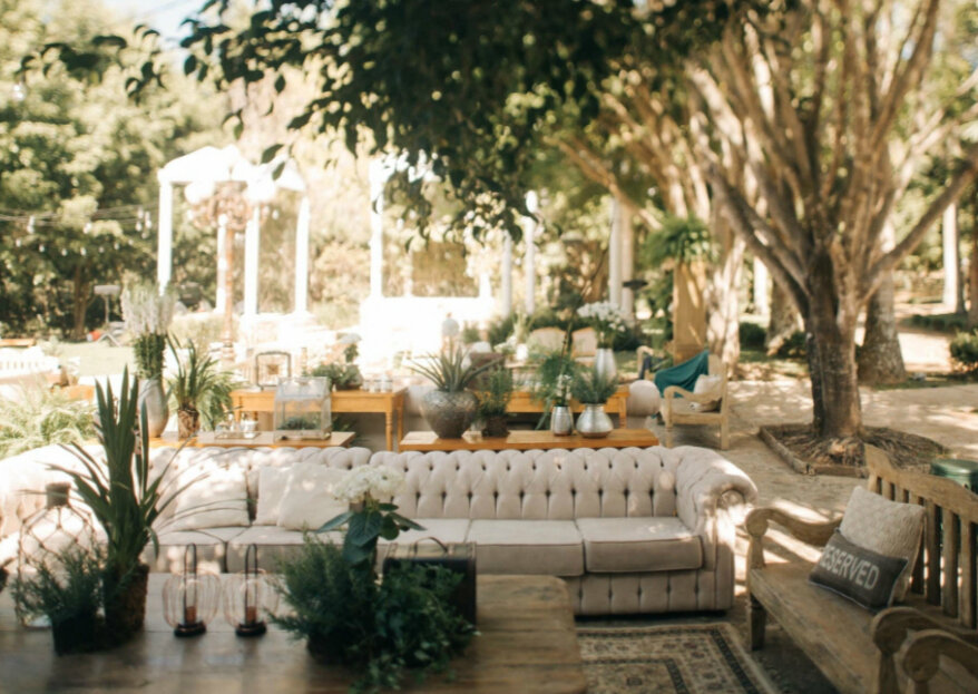 Leteche Decorações de Eventos: especializada em destination weddings e eventos integrados à natureza!
