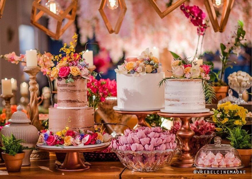 Mesas de doces do Instagram: inspirações maravilhosas!
