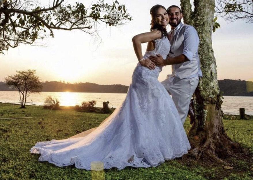 Chácara Estância Silvestre: Cenário deslumbrante para vocês realizarem o sonho de casar ao ar livre