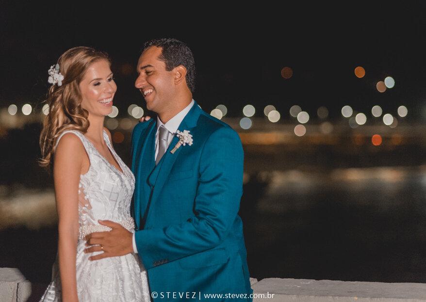 Renata & Pedro: Lindo casamento com inspiração praiana no Rio de Janeiro para celebrar um encontro do destino