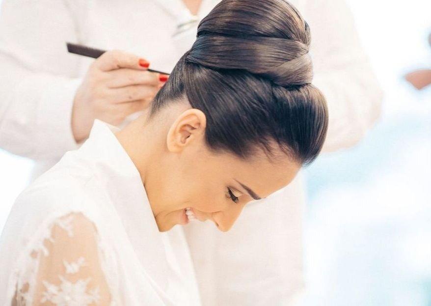 Casamento com chuva? Selecionamos penteados resistentes e lindos para você.