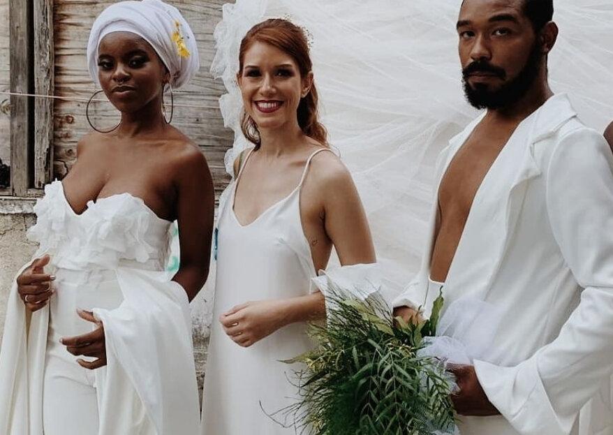 Meeck Atelier: vestidos criados sob medida para todos os tipos de amor!