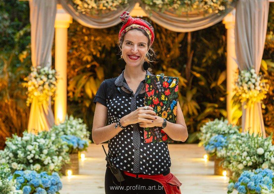 Marina Maciel Cerimonial: Tranquilidade e parceria para realizar todos os sonhos dos noivos e organizar o casamento perfeito
