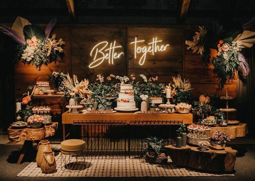 Aposte em uma decoração de casamento espetacular para um resultado fotográfico perfeito!