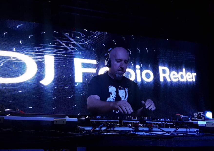 DJ Fabio Reder: energia e sensibilidade para que sua pista de dança se transforme em um verdadeiro sucesso