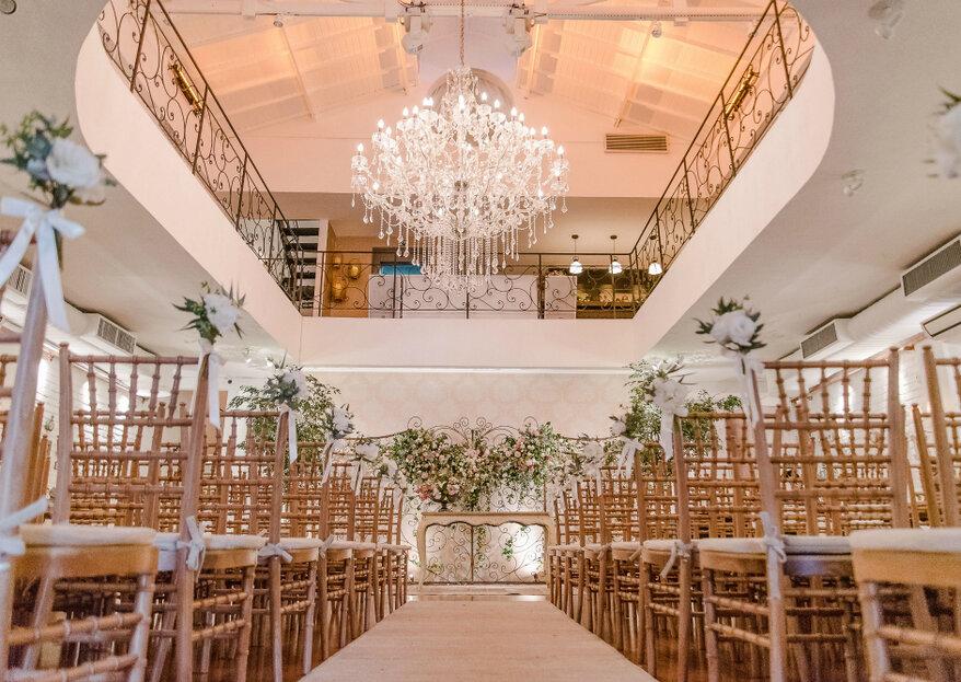 Chalé Quintal: um espaço composto por cenários incríveis para um casamento recheado de amor e romantismo