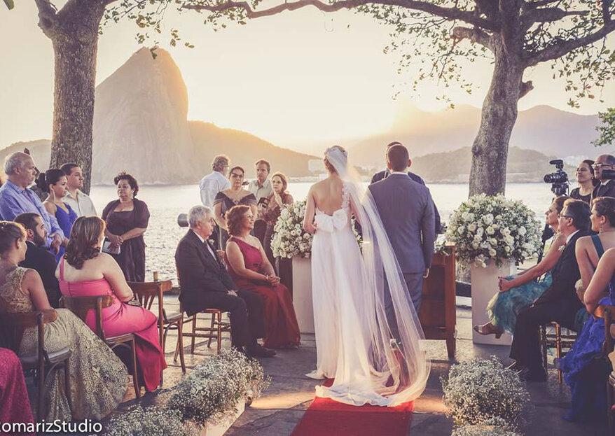 O local perfeito para cada estilo de casamento!