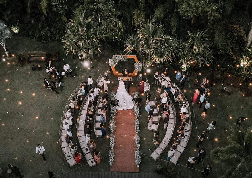 Vale Jardins: Conheça este espaço primoroso que tem tudo para ser o cenário do seu grande dia inesquecível!