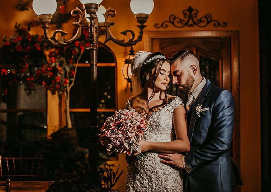 Espaços incríveis e para todos os gostos para vocês terem um casamento inesquecível do jeito que sempre sonharam