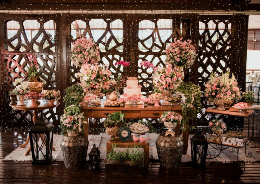 Flor Brasileira: a empresa que se compromete com o sonho do casal, criando projetos decorativos repletos de personalidade