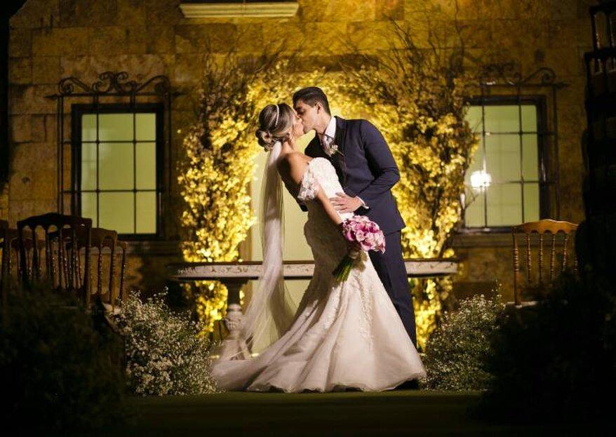 Buffet Almeida Pires: arquitetura clássica e estrutura impecável formam o espaço ideal para um casamento memorável