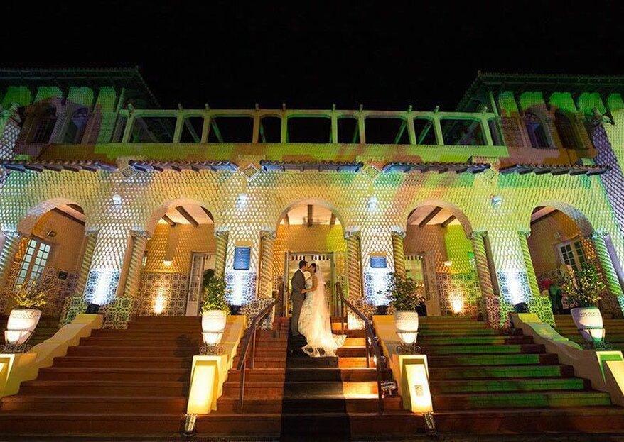 Mansão Botafogo: lugar histórico e elegante que é o palco ideal para o seu casamento