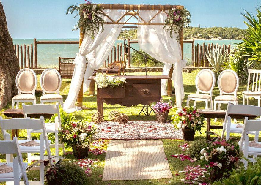 CasAmar Wedding: o lugar perfeito para celebrar seu casamento de forma única e inesquecível e alto estilo em uma das praias mais lindas de Búzios