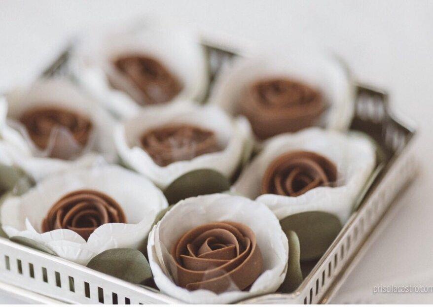 Carol Melo Doces: seu casamento ainda mais inesquecível com uma mesa de doces recheada de delícias