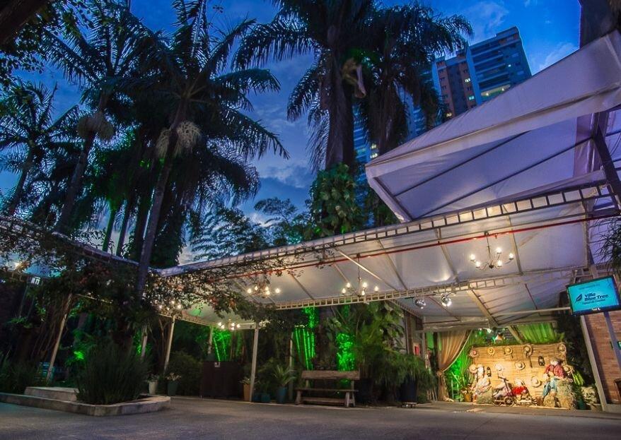 Villa Blue Tree: um espaço fantástico para quem sonha com uma celebração personalizada e gastronomia de excelência!
