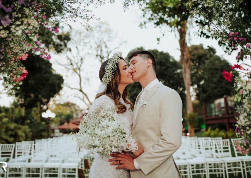 Espaço Divine: seu casamento celebrado com sofisticação e aconchego em meio a cenários abençoados pela natureza