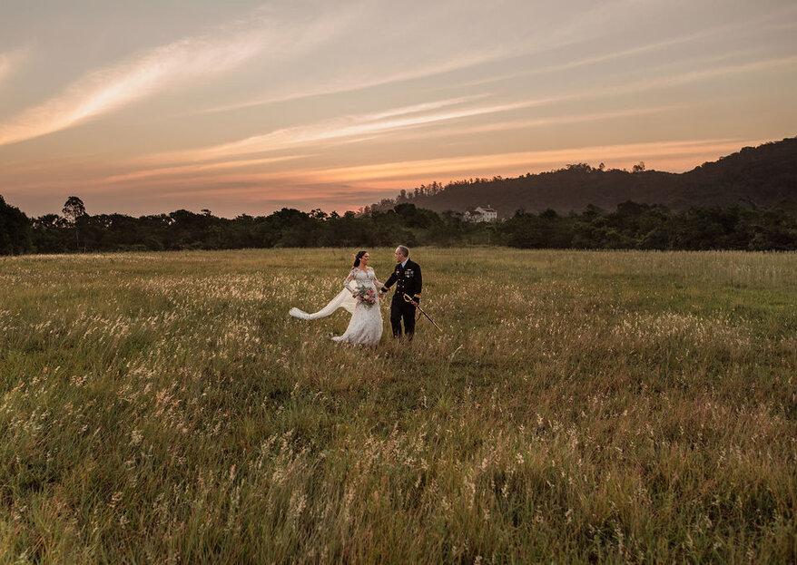 Casamento de Renata e Matteus: uma festa ao ar livre cheia de detalhes especiais