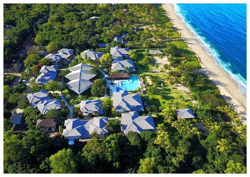 Campo Bahia Hotel Villas SPA: um lugar encantador com tudo o que você precisa para seu casamento exclusivo na praia, ao pôr do sol e pé na areia