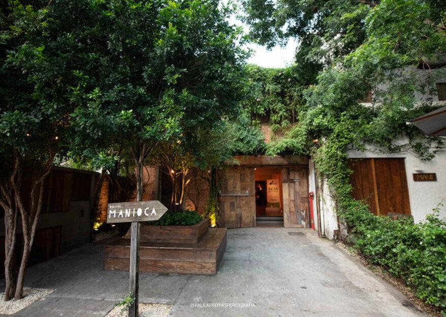 Casa Manioca: um espaço aconchegante e sofisticado para a realização de celebrações intimistas arrebatadoras