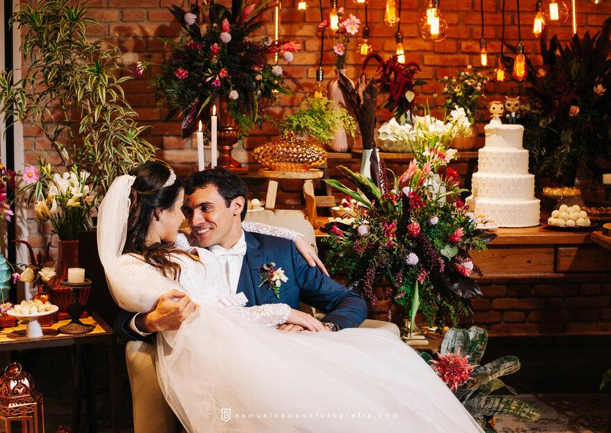 Casamento rústico romântico de Paola e Felippe: todo sentimento registrado em fotos LINDÍSSIMAS!