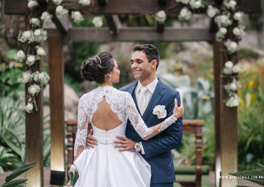 Estilista Jefferson Moreira: dedicação e exclusividade para criar o vestido de noiva dos seus sonhos