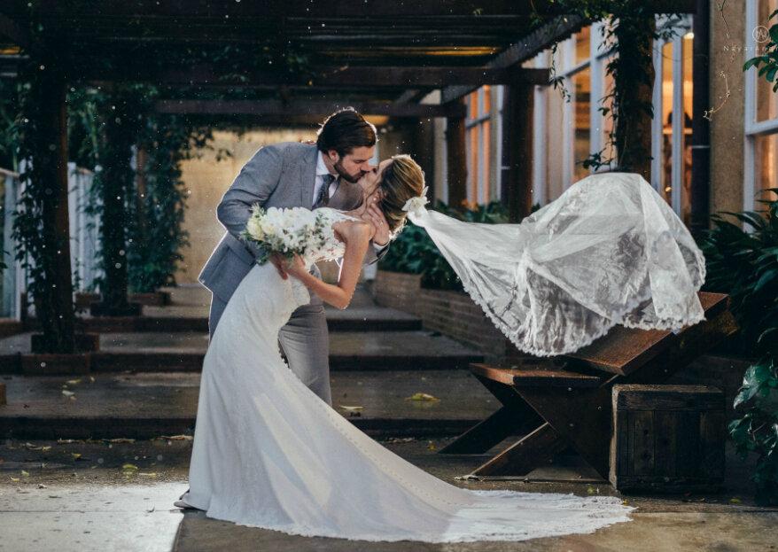 Raissa Clark & Noah Clark: casamento romântico com toques tropicais e muito amor envolvido!