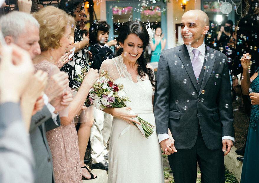 Como em casa! Assim você deve se sentir durante a celebração do seu casamento!