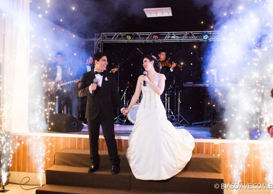 Me Gusta Produções Musicais: Serviço completo e personalizado para tornar o seu casamento ainda mais animado e memorável!