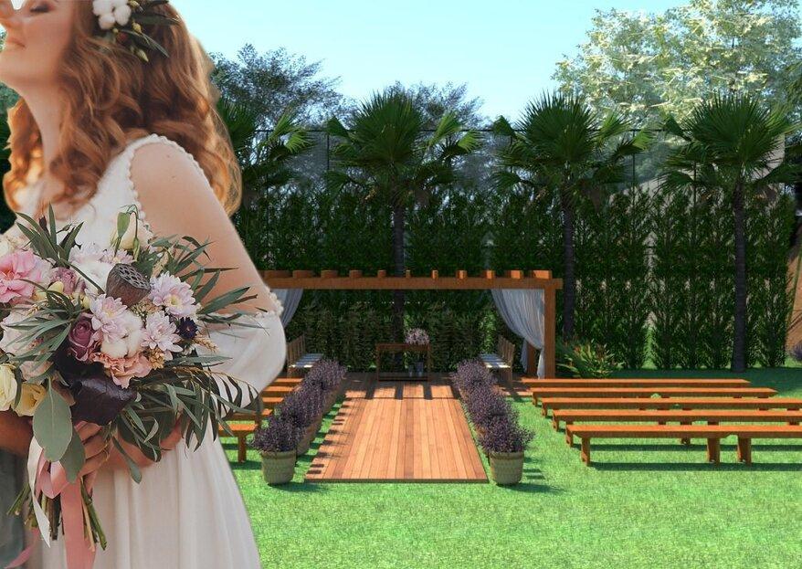 Casanova Di Lima: Conheça o espaço perfeito para destination weddings intimistas e aconchegantes a menos de uma hora de São Paulo!