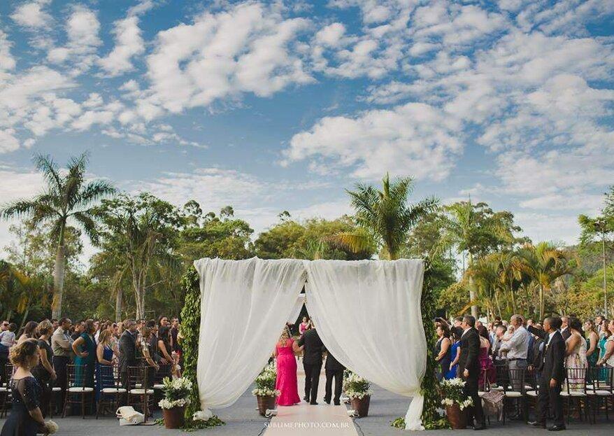 Château Ma Vie: um espaço inspirador onde a natureza se mostra de forma exuberante, perfeito para uma cerimônia ao ar livre